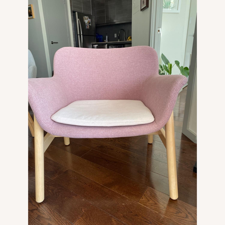 IKEA Pink Armchair - image-1