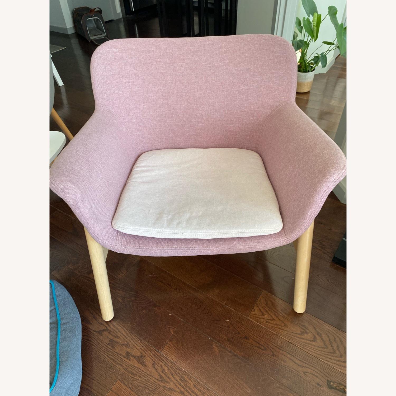 IKEA Pink Armchair - image-2