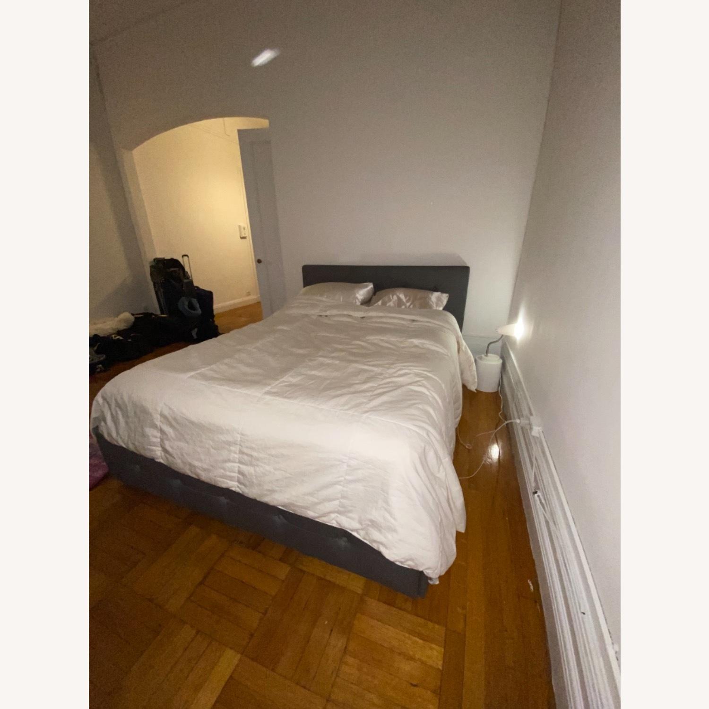 Wayfair Queen Bed Frame, Headboard and Storage - image-2
