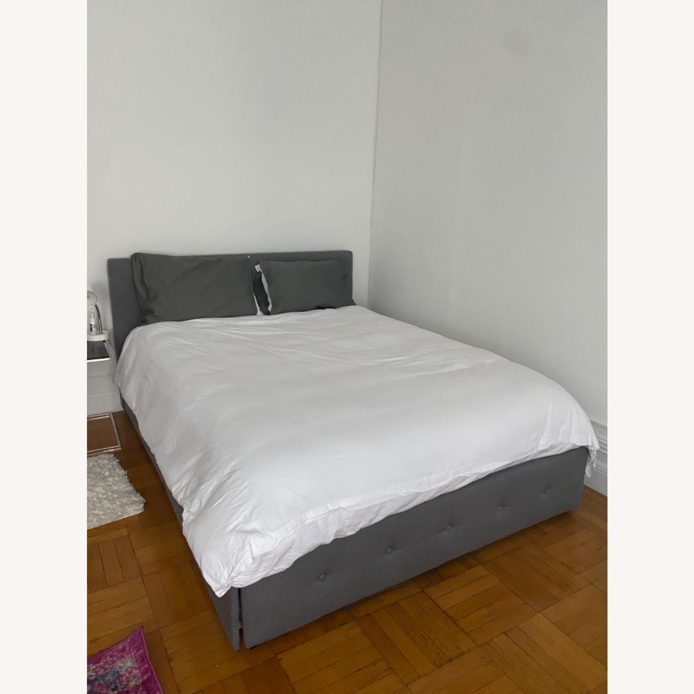 Wayfair Queen Bed Frame, Headboard and Storage - image-8