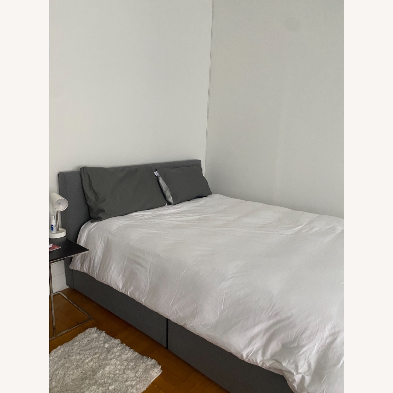 Wayfair Queen Bed Frame, Headboard and Storage - image-6