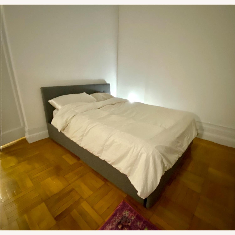 Wayfair Queen Bed Frame, Headboard and Storage - image-0