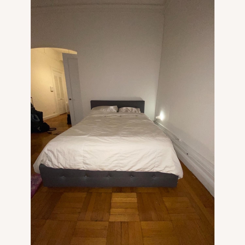 Wayfair Queen Bed Frame, Headboard and Storage - image-5