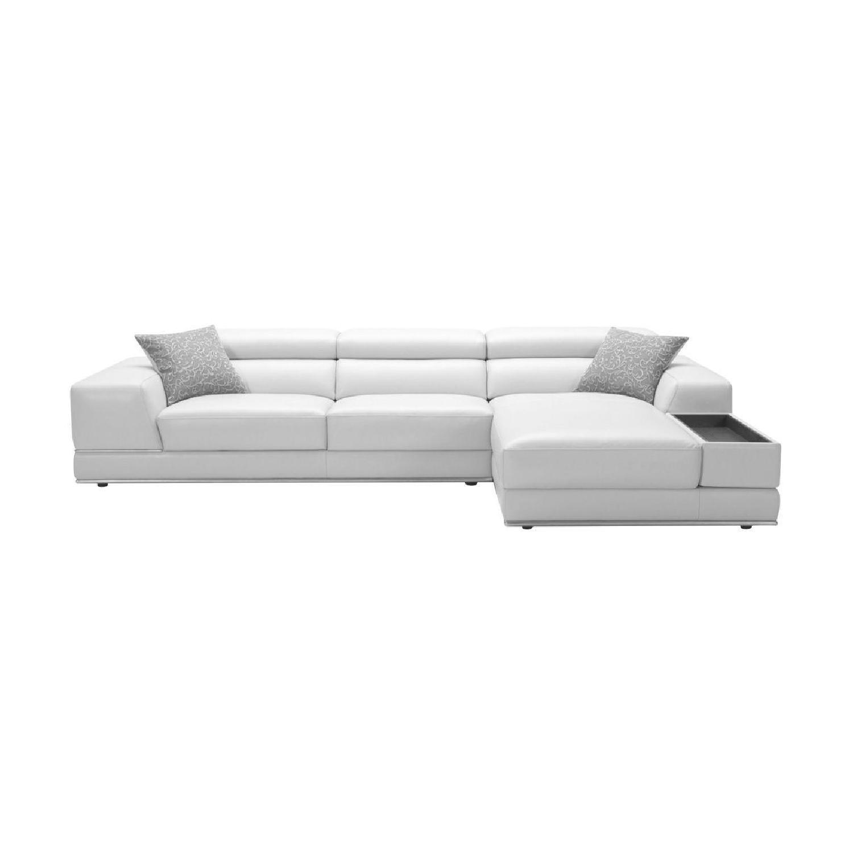 Modani Leather Sectional Sofa - image-0