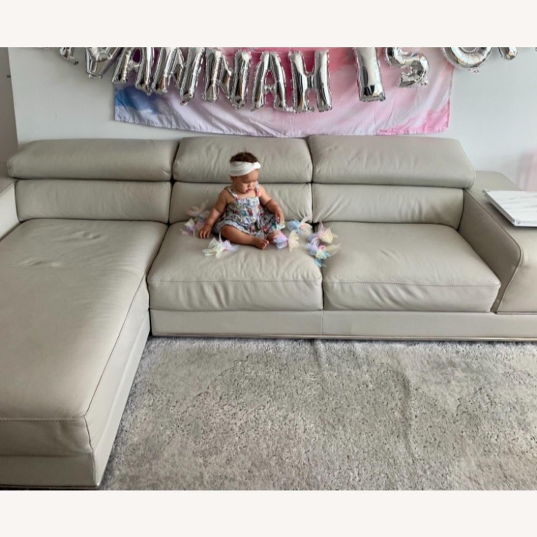 Modani Leather Sectional Sofa - image-6