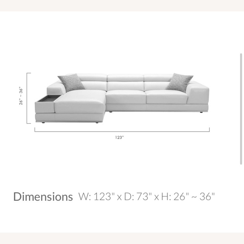 Modani Leather Sectional Sofa - image-3