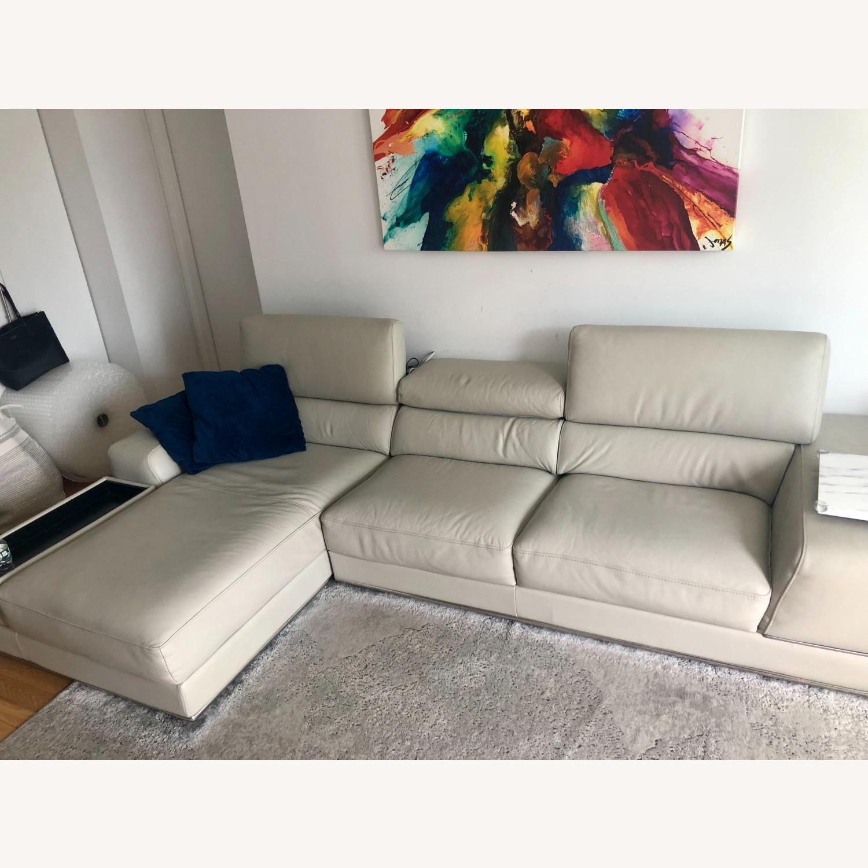 Modani Leather Sectional Sofa - image-2