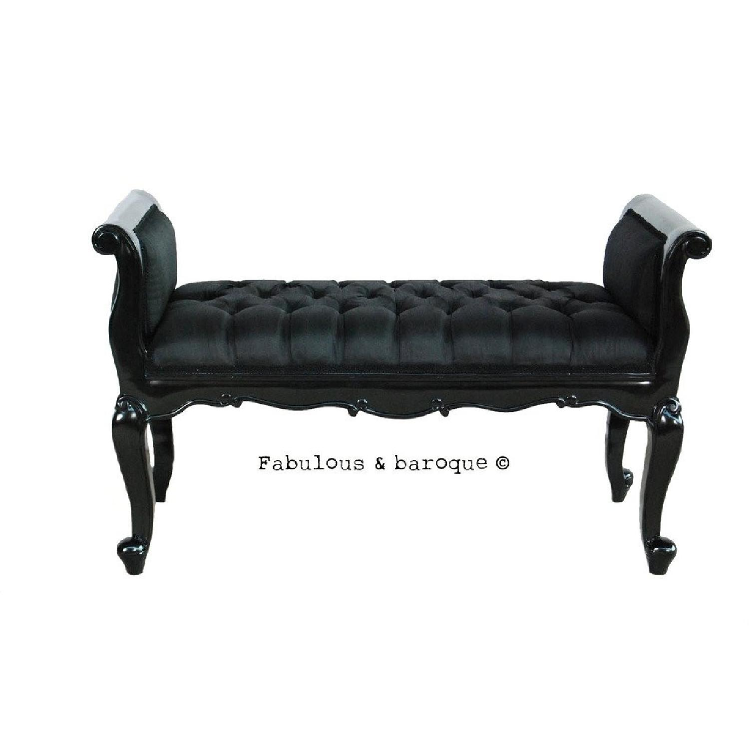Fabulous & Baroque Isadora French Upholstered Bench - image-4