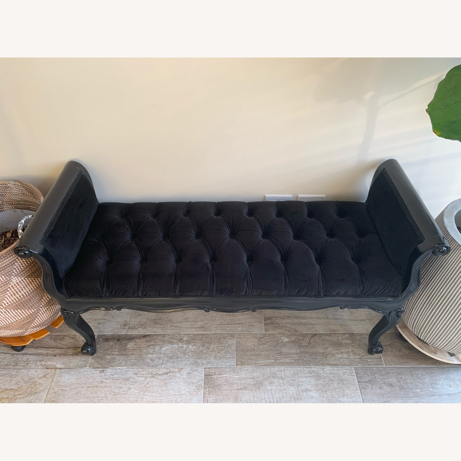 Fabulous & Baroque Isadora French Upholstered Bench - image-3