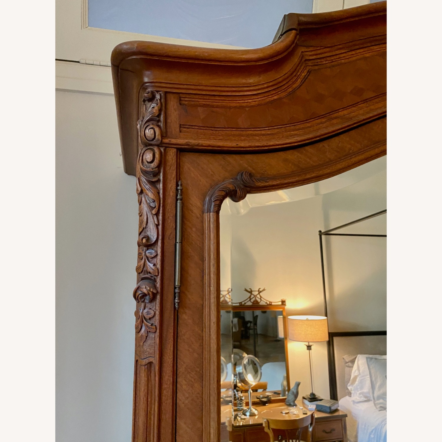 Antique Double Door French Armoire - image-4