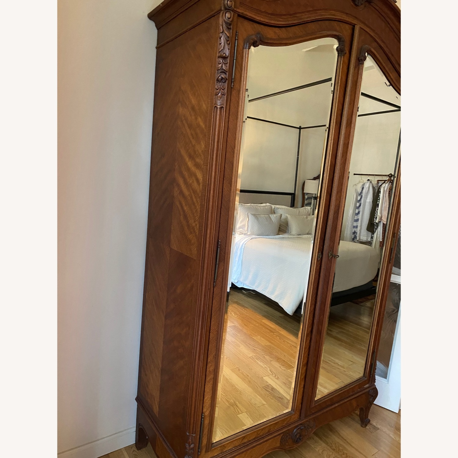 Antique Double Door French Armoire - image-5