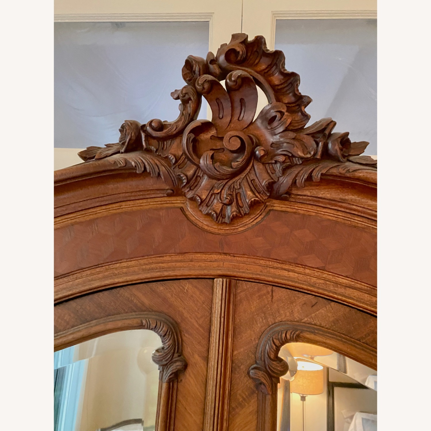 Antique Double Door French Armoire - image-2