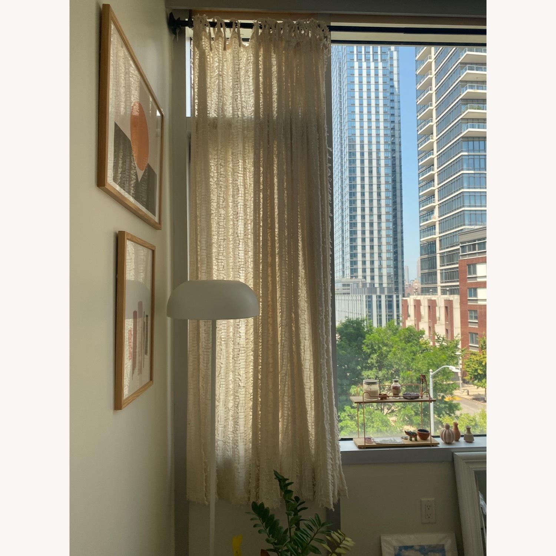 4 Urban Outfitters Beige Winne Eyelash Curtains - image-1