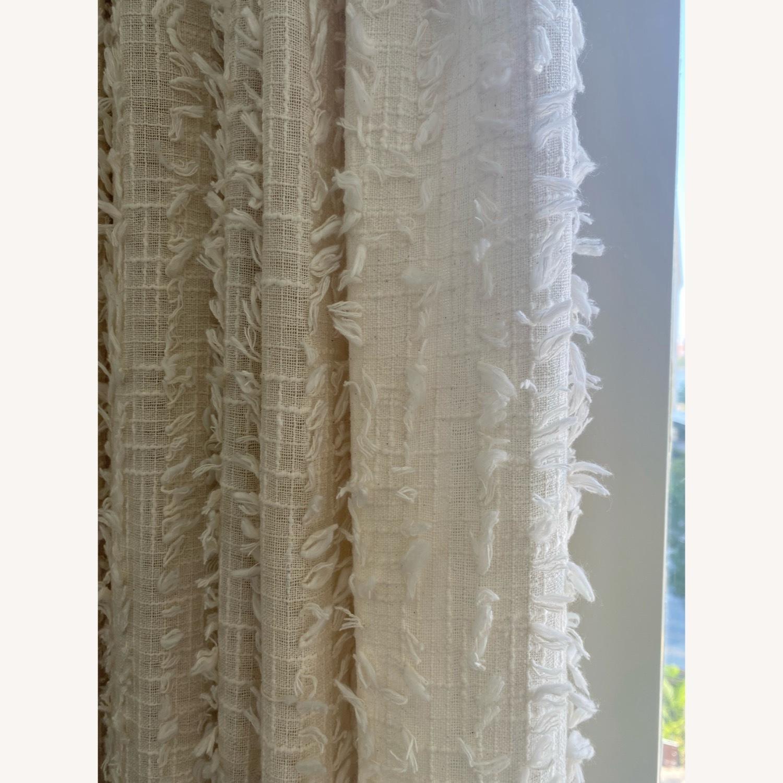 4 Urban Outfitters Beige Winne Eyelash Curtains - image-2