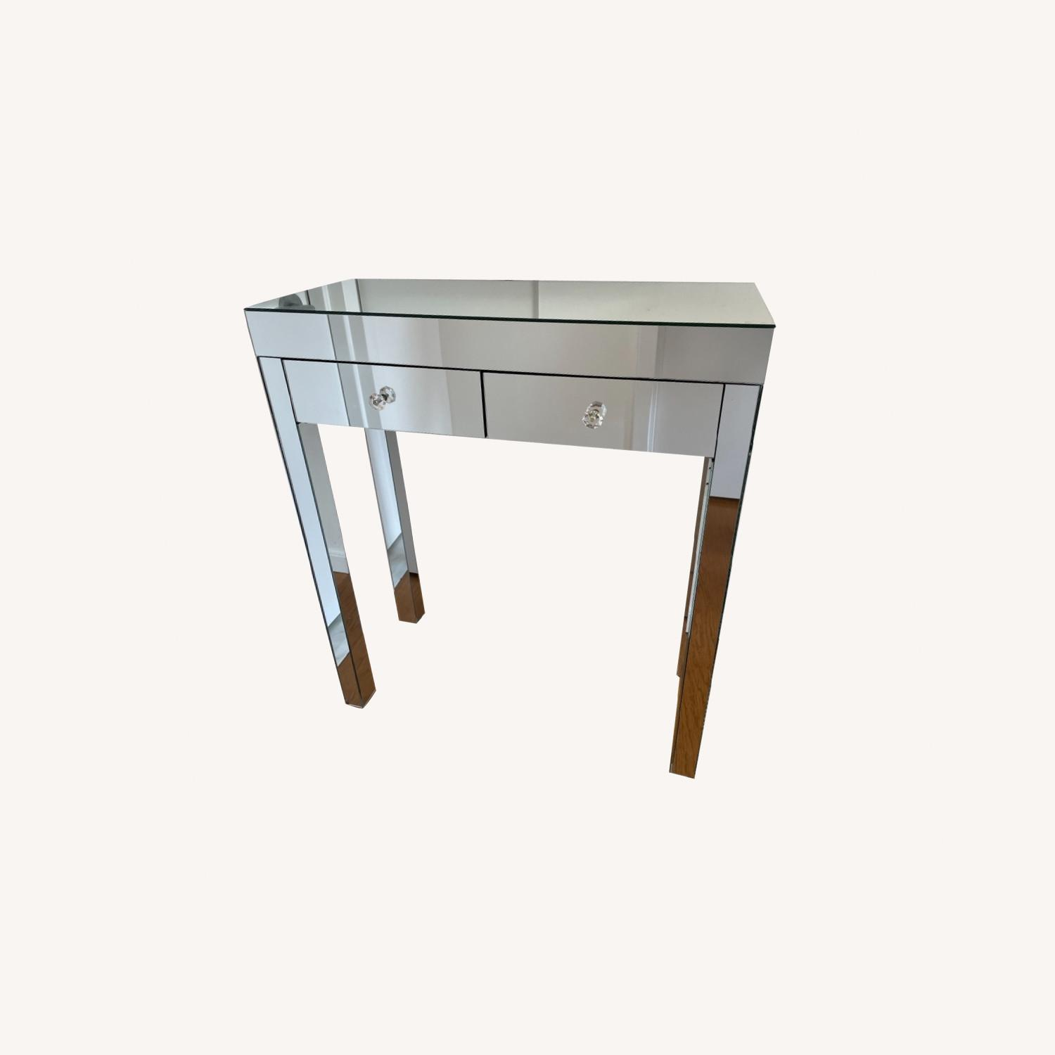 Mirrored Entryway Table - image-0
