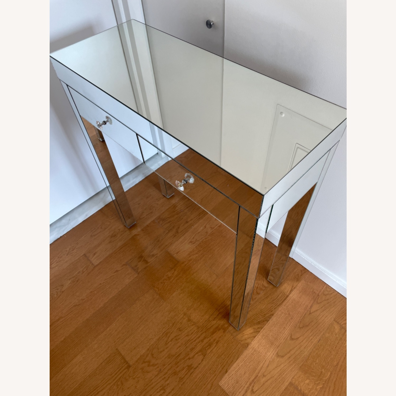 Mirrored Entryway Table - image-3
