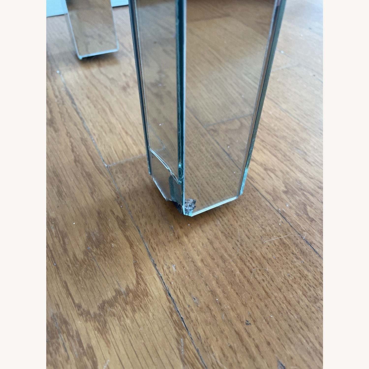 Mirrored Entryway Table - image-1