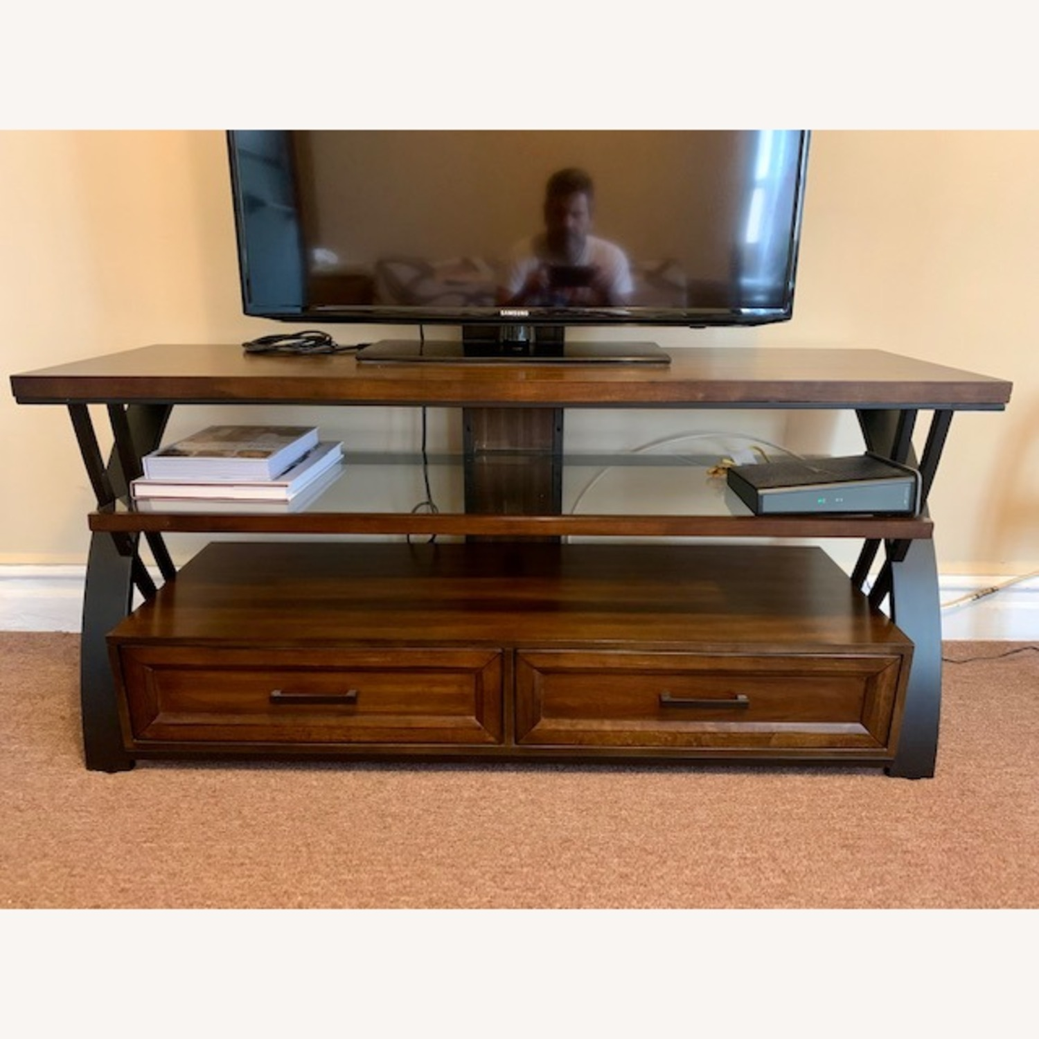 TV Stand for Flat-Screen TV - image-4