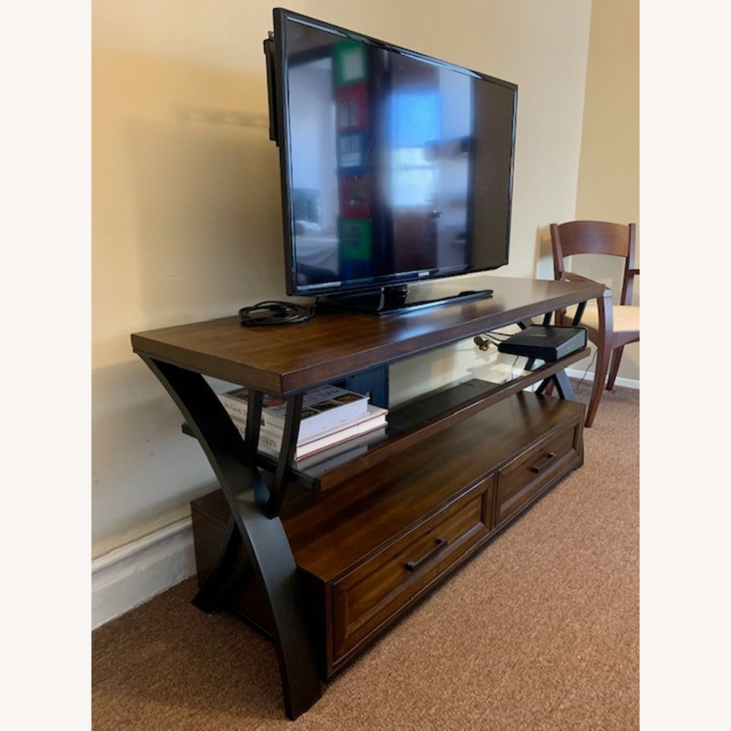 TV Stand for Flat-Screen TV - image-1