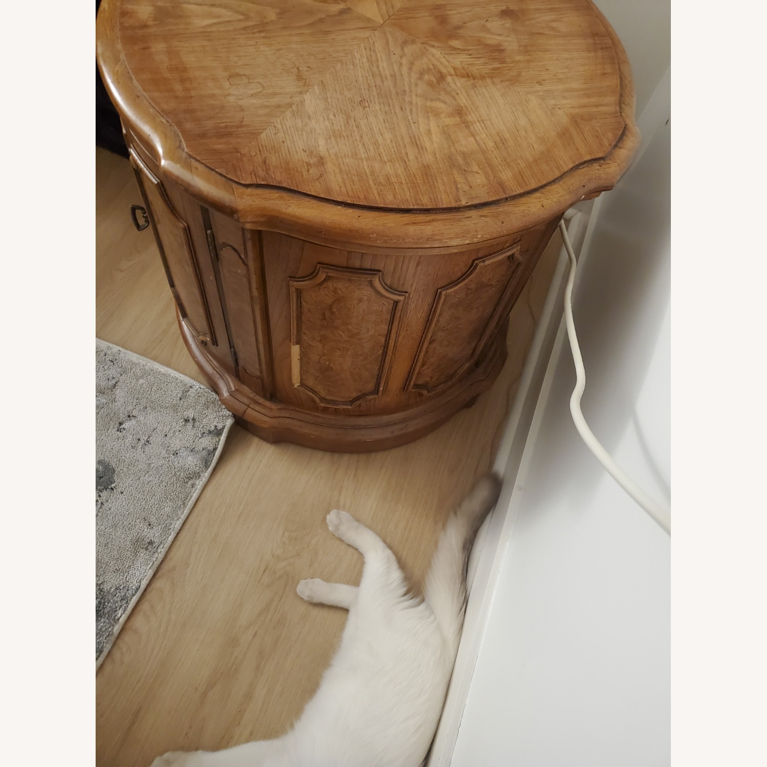 100% Wood End Table - image-3