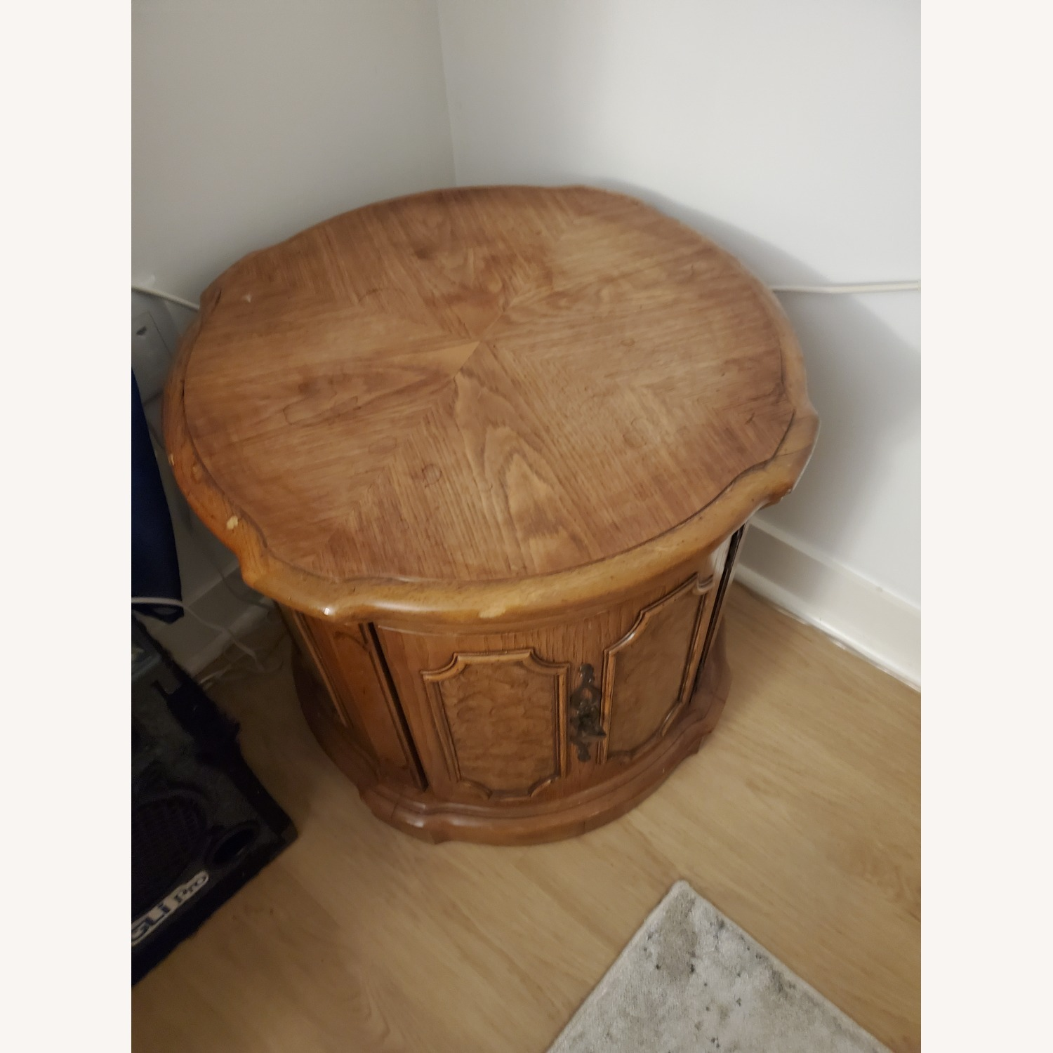 100% Wood End Table - image-1