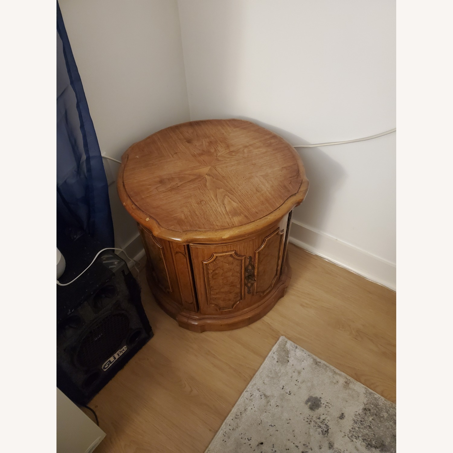 100% Wood End Table - image-2