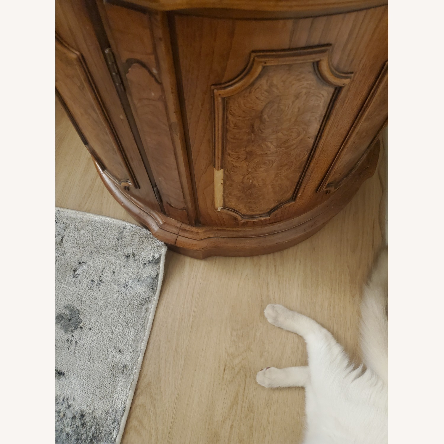 100% Wood End Table - image-4