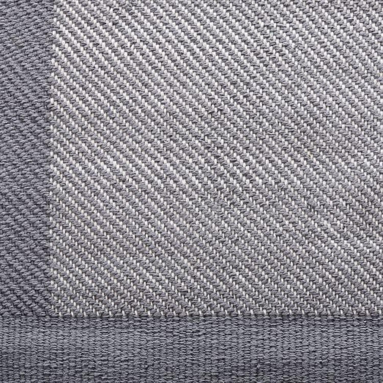 West Elm Border Twill Rug, 9x12, Steel - image-2