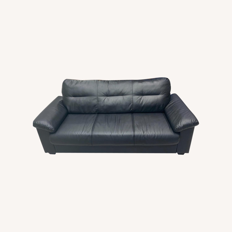 IKEA KNISLINGE Series Sofa Idhult Black - image-0