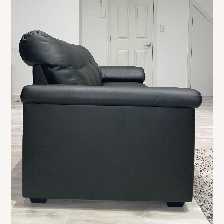 IKEA KNISLINGE Series Sofa Idhult Black - image-3