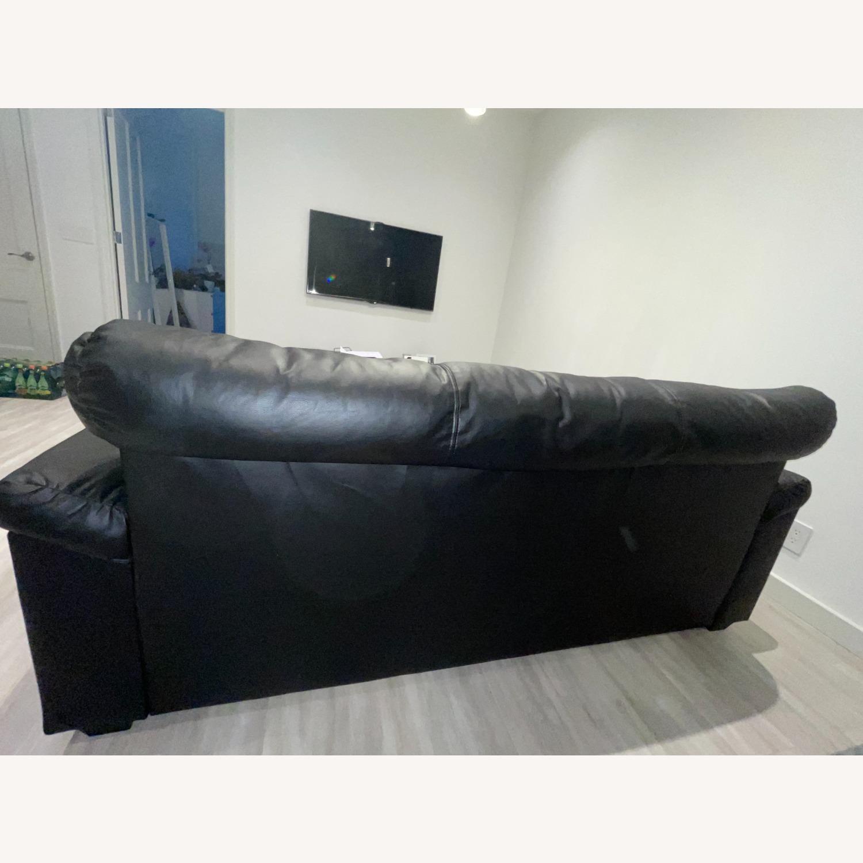 IKEA KNISLINGE Series Sofa Idhult Black - image-4