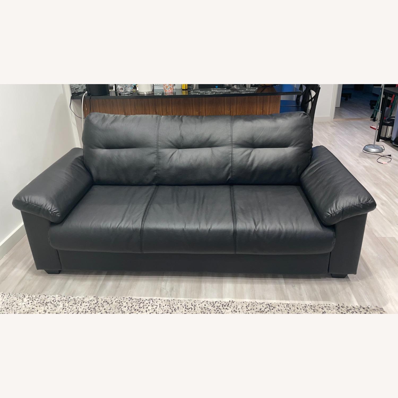 IKEA KNISLINGE Series Sofa Idhult Black - image-7