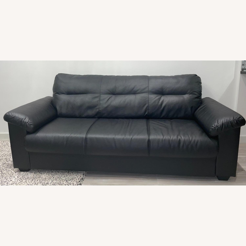 IKEA KNISLINGE Series Sofa Idhult Black - image-8