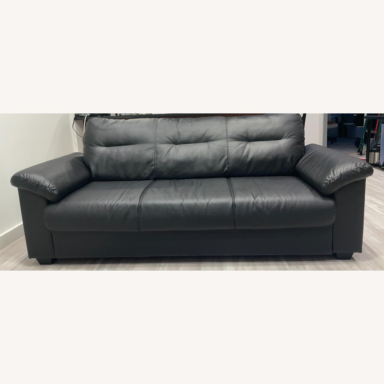 IKEA KNISLINGE Series Sofa Idhult Black - image-9