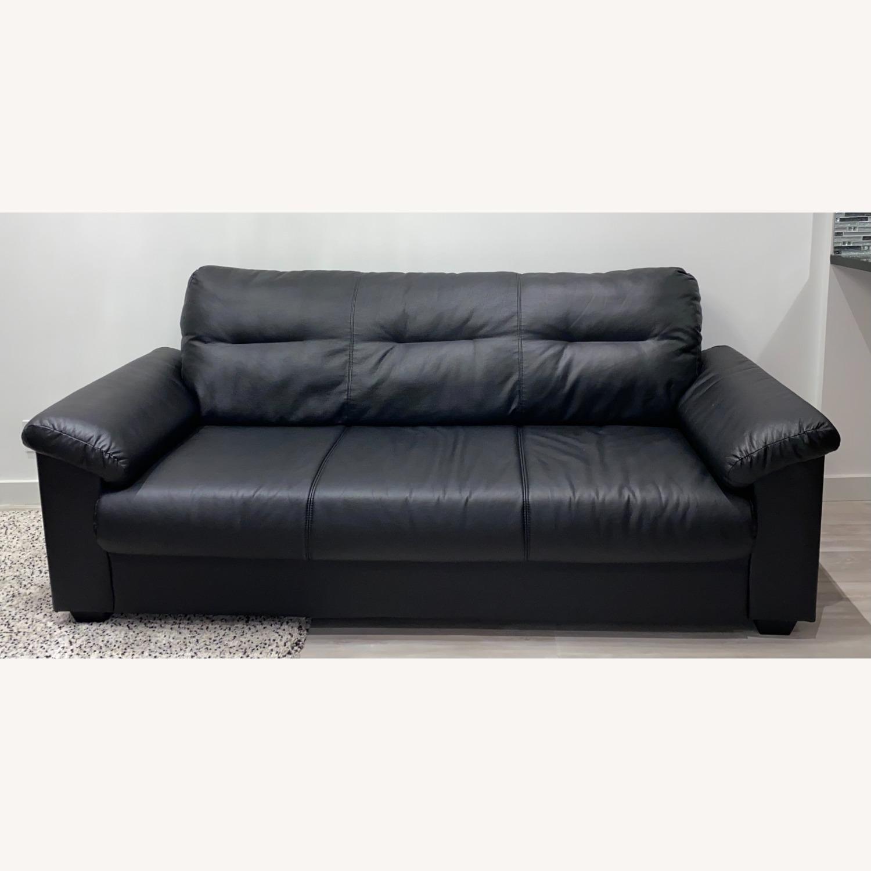 IKEA KNISLINGE Series Sofa Idhult Black - image-15