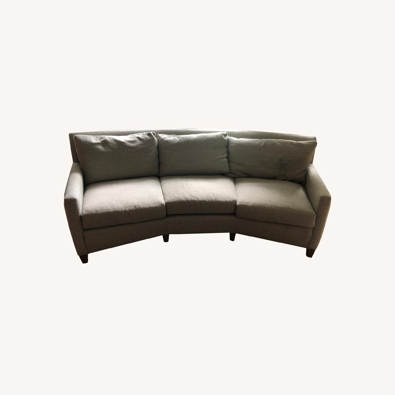Lee Industries Wedge Sofa - image-0