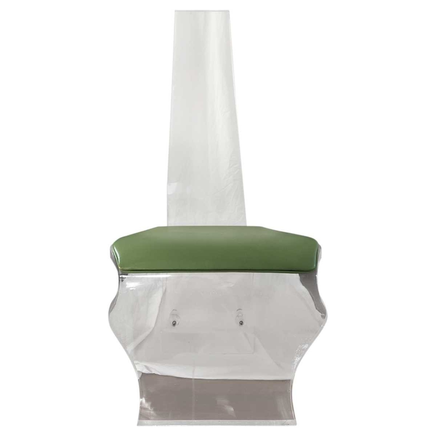 Tall Back Lucite Dining Chairs - image-4