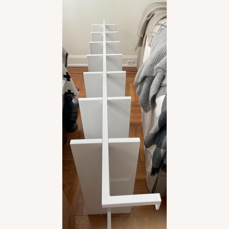 """CB2 White 96"""" Bookcase - image-2"""