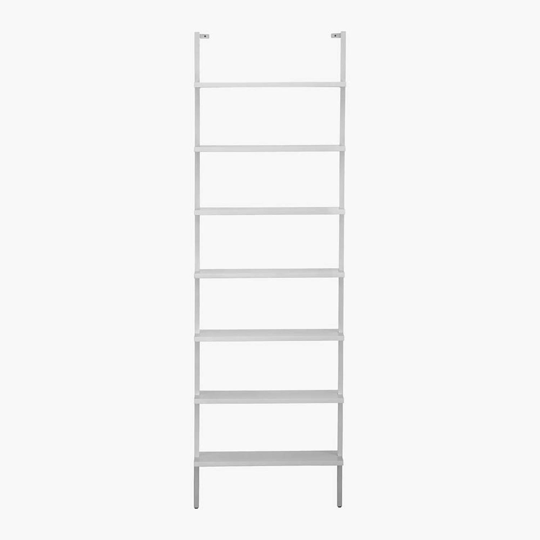 """CB2 White 96"""" Bookcase - image-4"""