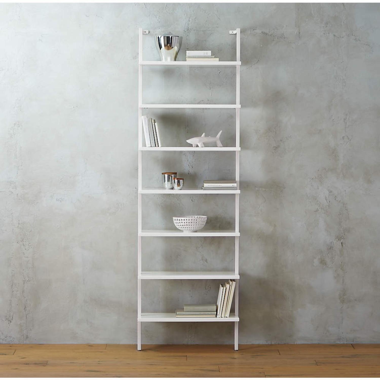 """CB2 White 96"""" Bookcase - image-5"""