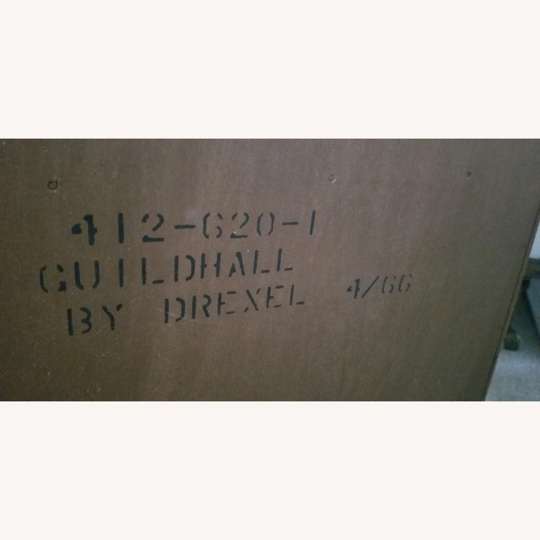 Vintage Drexel Dark Wood Nightstand - image-4