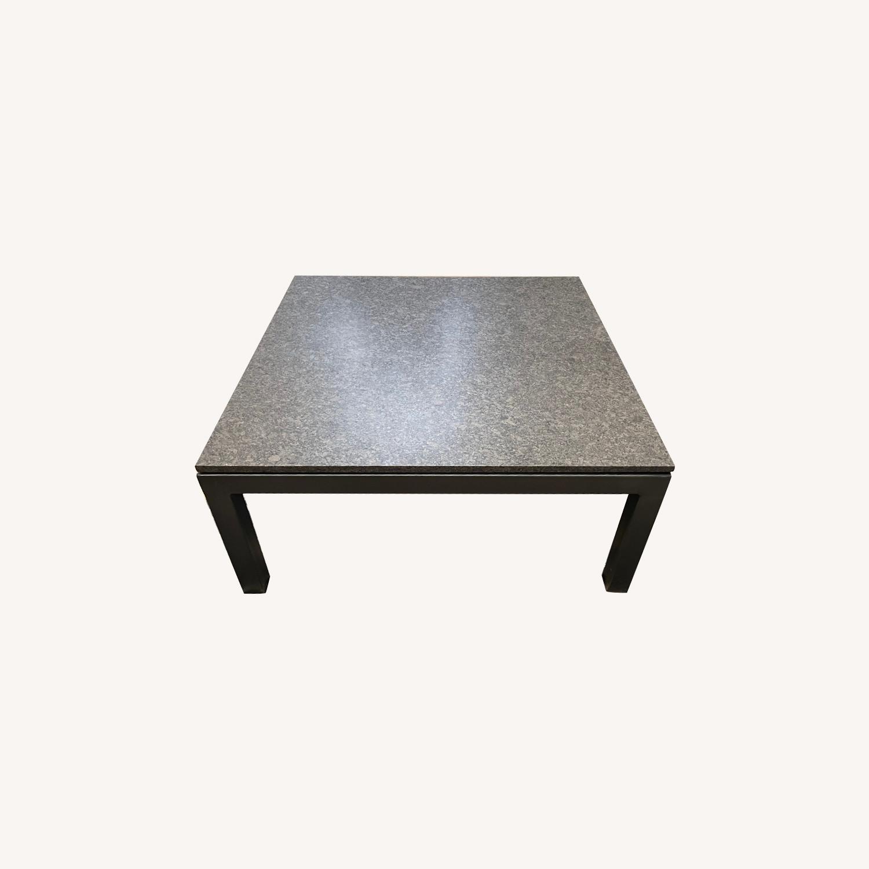 Room & Board Parsons Granite Top Coffee Table - image-0