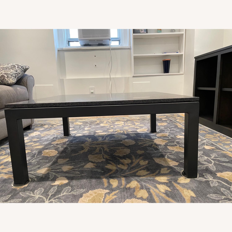 Room & Board Parsons Granite Top Coffee Table - image-3