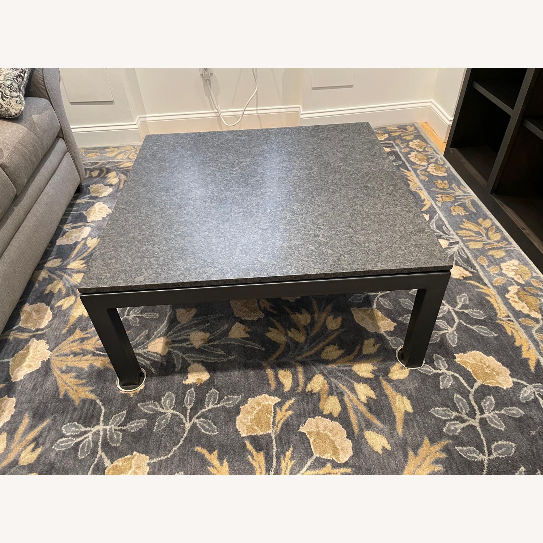 Room & Board Parsons Granite Top Coffee Table - image-1