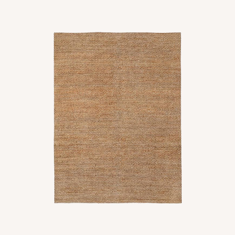West Elm Jute Bauble Rug, 8x10, Sand - image-0