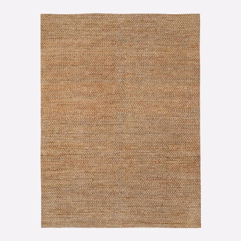 West Elm Jute Bauble Rug, 8x10, Sand - image-1
