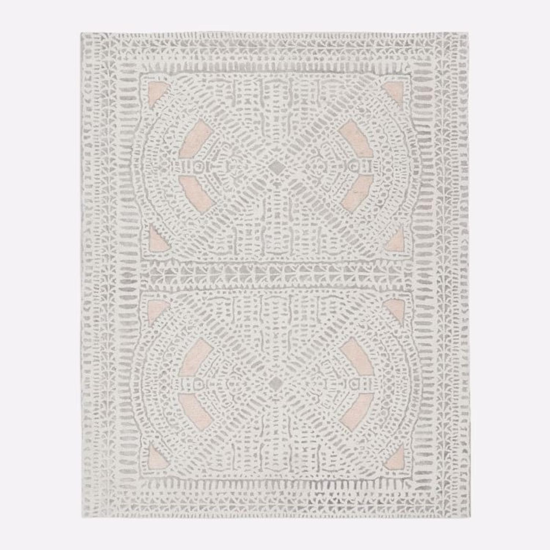 West Elm Dynasty Rug, 6x9, Rosette - image-3