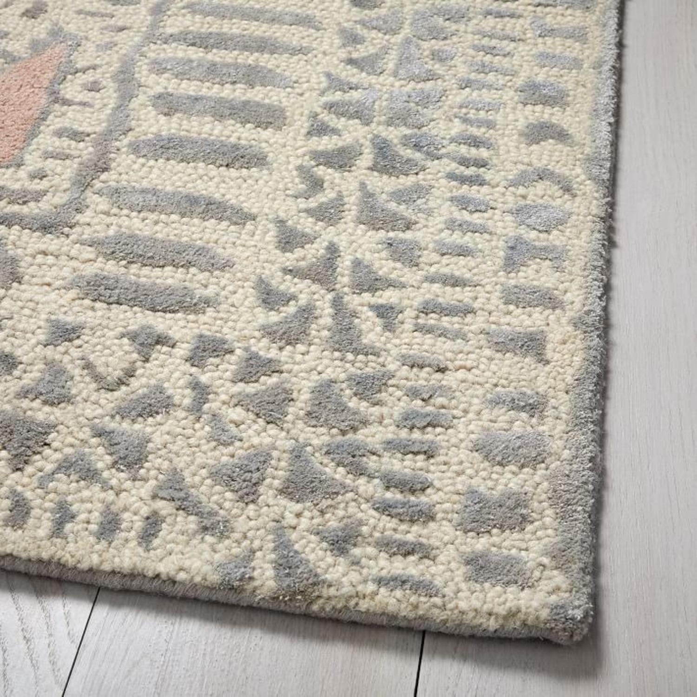 West Elm Dynasty Rug, 6x9, Rosette - image-1