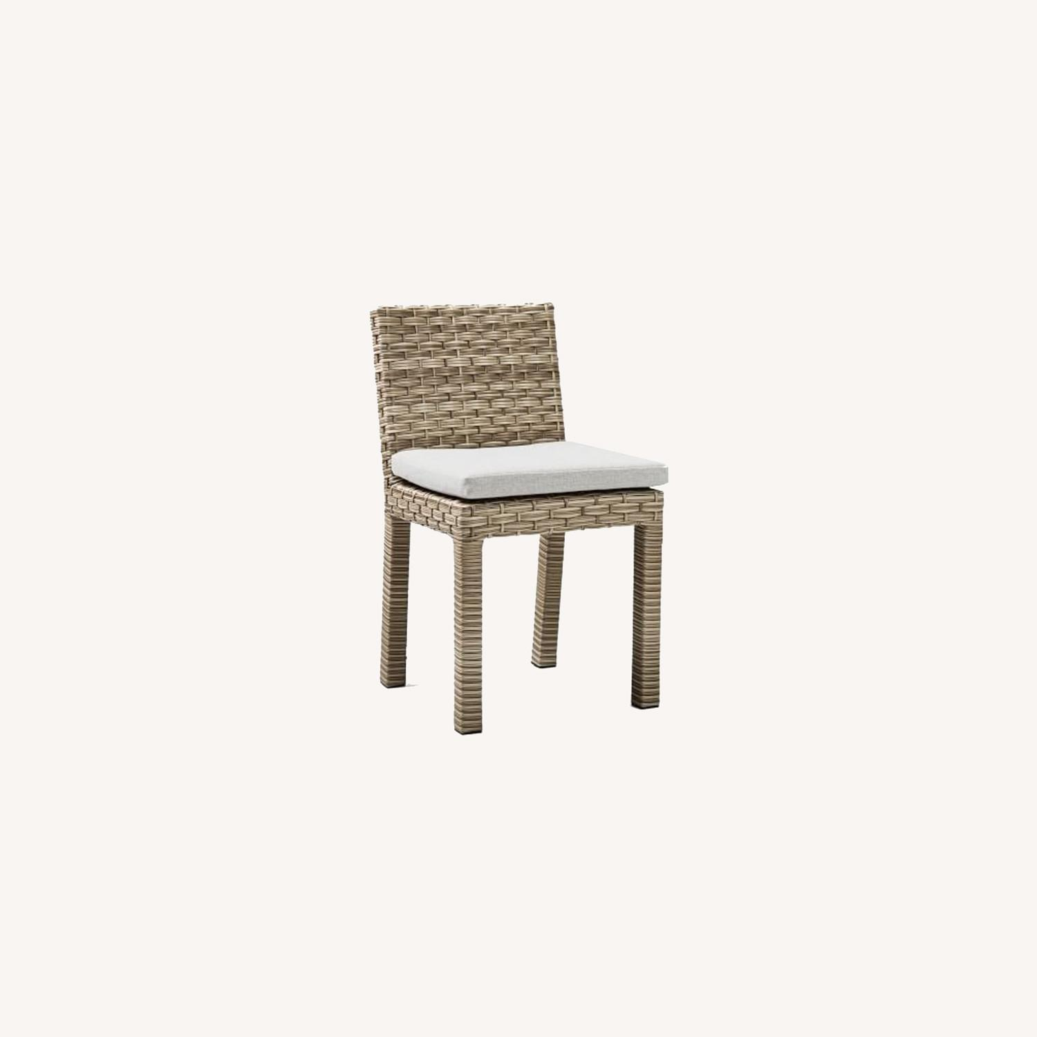 West Elm Urban Outdoor Dining Chair, Set of 2 - image-0