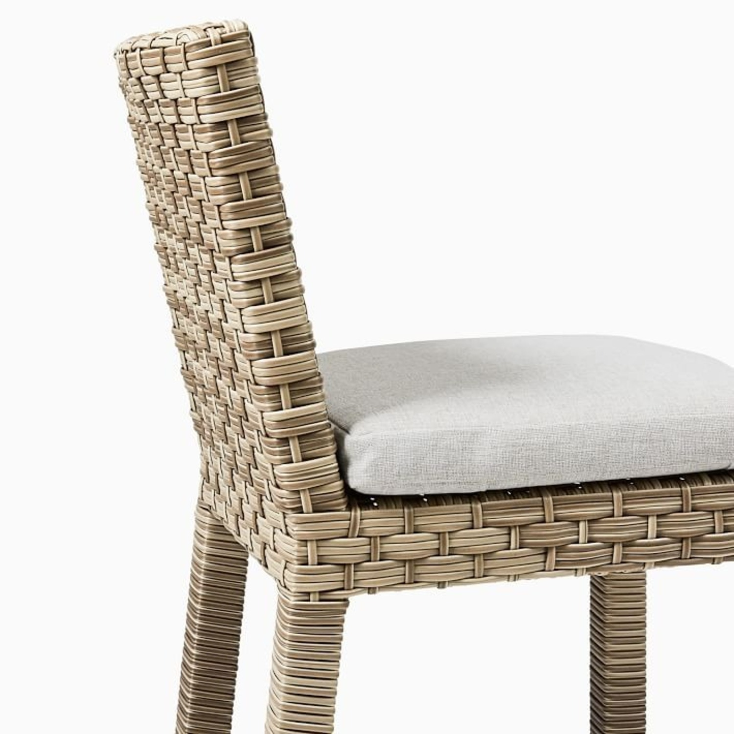 West Elm Urban Outdoor Dining Chair, Set of 2 - image-2